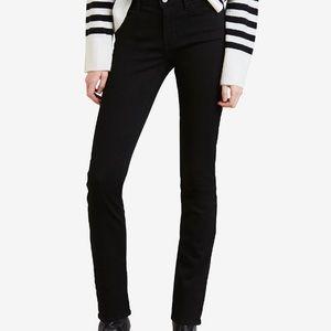 NWT Levi's Women's Size 18 Black Jeans
